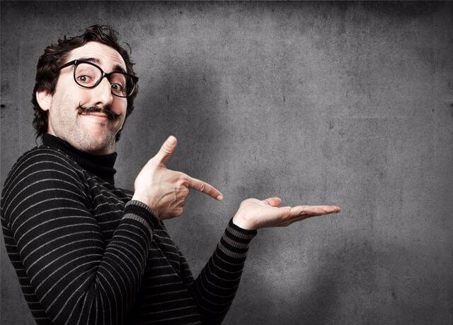 איש עם שפם | גושפנקה